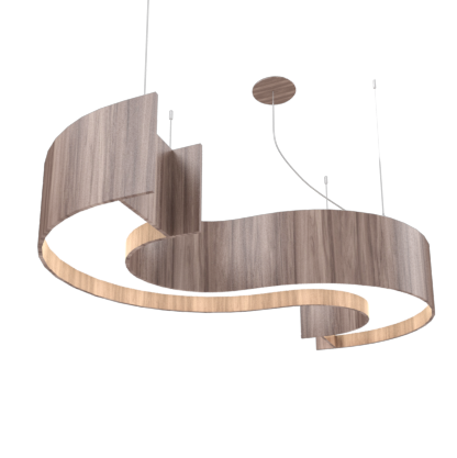 Pendant Lamp Accord Spy 1062 - Orgânica Line Accord Lighting | 18. American Walnut