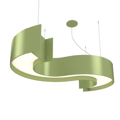 Pendant Lamp Accord Spy 1062 - Orgânica Line Accord Lighting | 30. Olive Green
