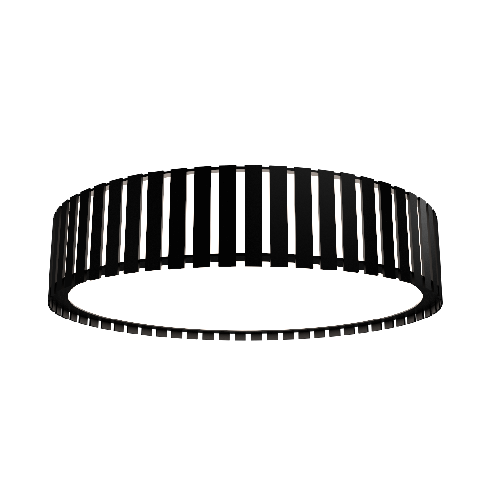 Ceiling Lamp Accord Ripado 5033 - Ripada Line Accord Lighting | 02. Matte Black