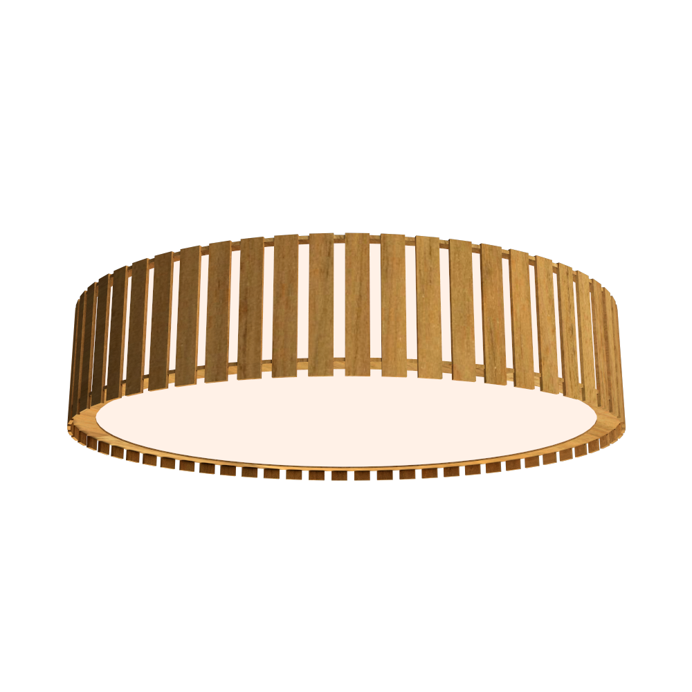 Ceiling Lamp Accord Ripado 5033 - Ripada Line Accord Lighting | 09. Louro Freijó