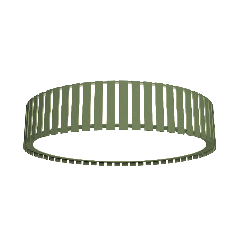 Ceiling Lamp Accord Ripado 5033 - Ripada Line Accord Lighting | 30. Olive Green