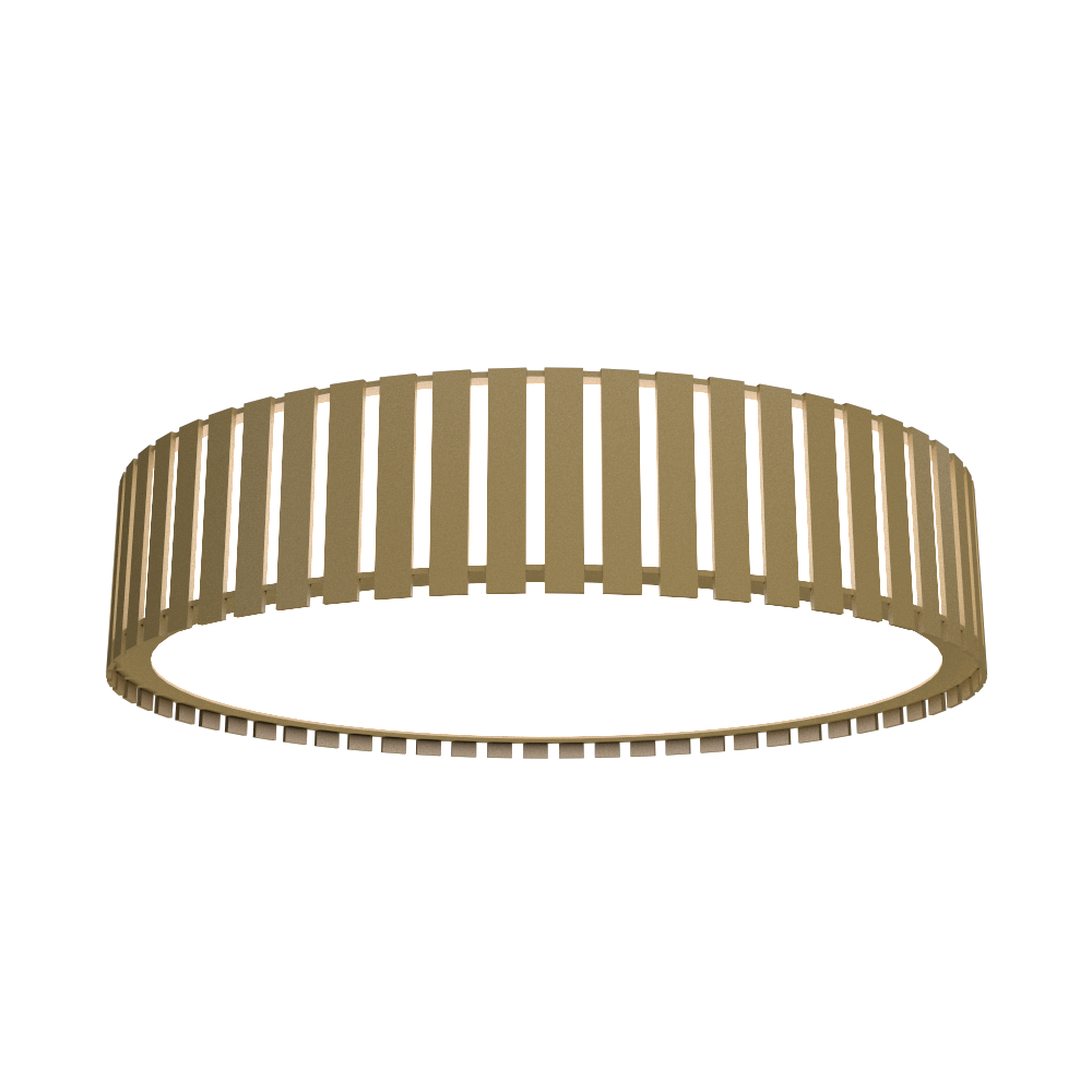 Ceiling Lamp Accord Ripado 5033 - Ripada Line Accord Lighting | Pale Gold