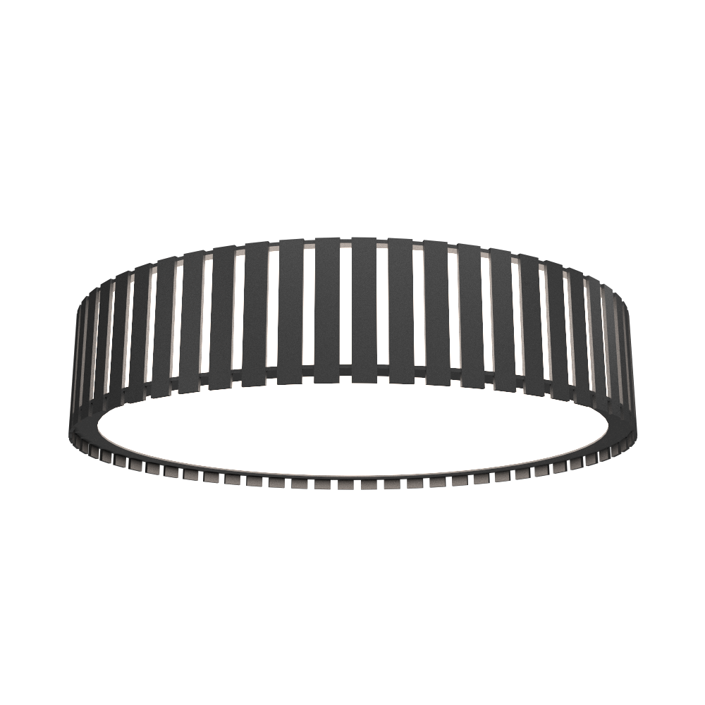 Ceiling Lamp Accord Ripado 5033 - Ripada Line Accord Lighting | Lead Grey