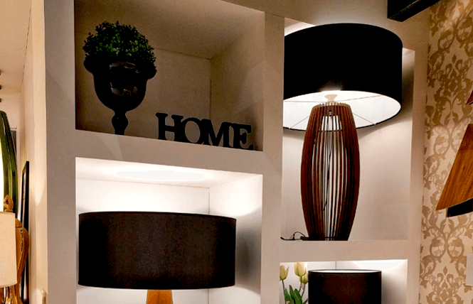 Image of gallery. ACCORD Lighting. Table lamps that make the difference in the ambience. Finishing in lacquer with wooden dome. A fancy option that you can have with ACCORD Lighting.